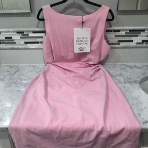 hayden light pink sleeveless dress